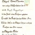 August Roggensinger, Freiherr von Arx