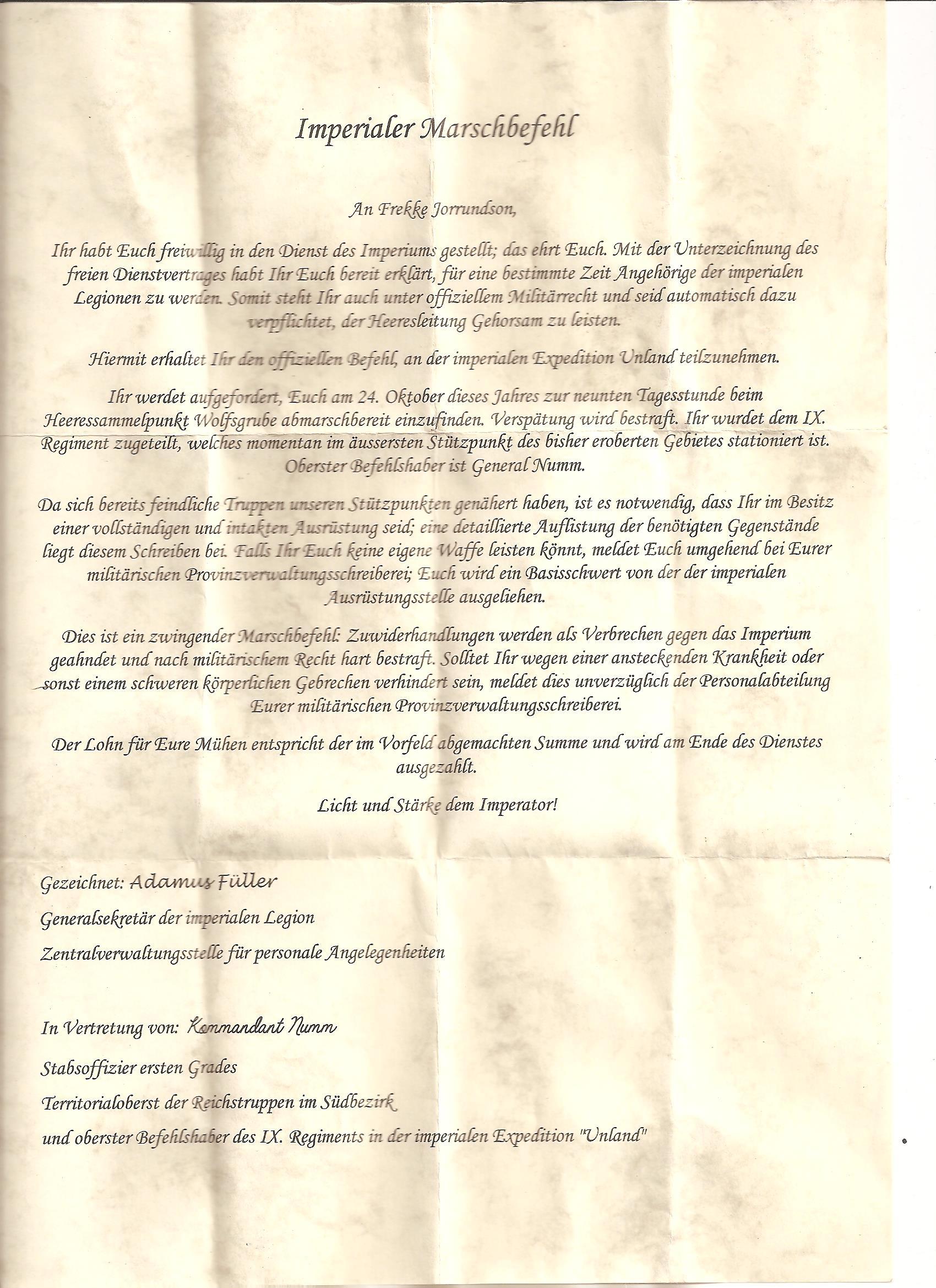 Unland Einladung
