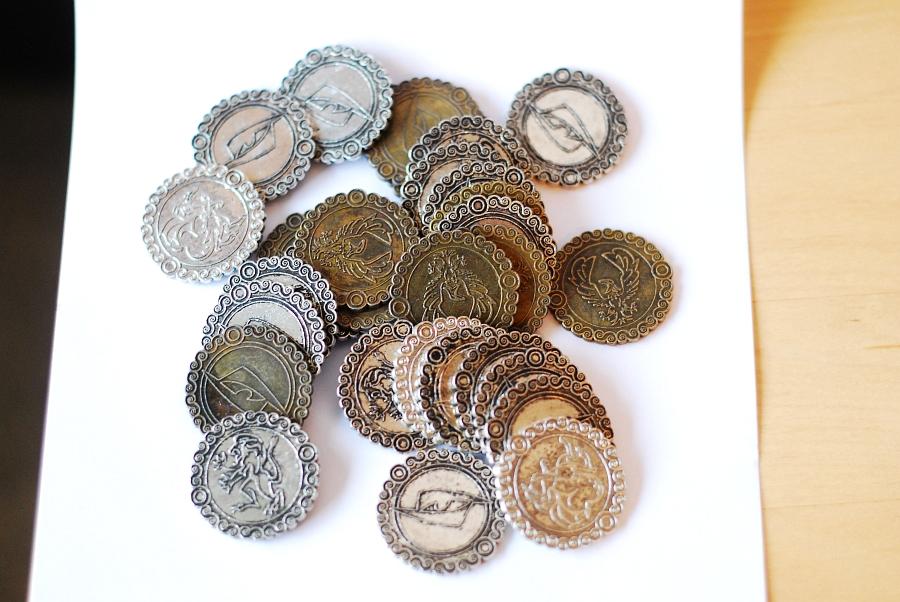 Metallmünzen Dänemark