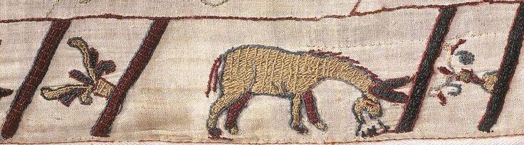 Esel (Teppich von Bayeux)